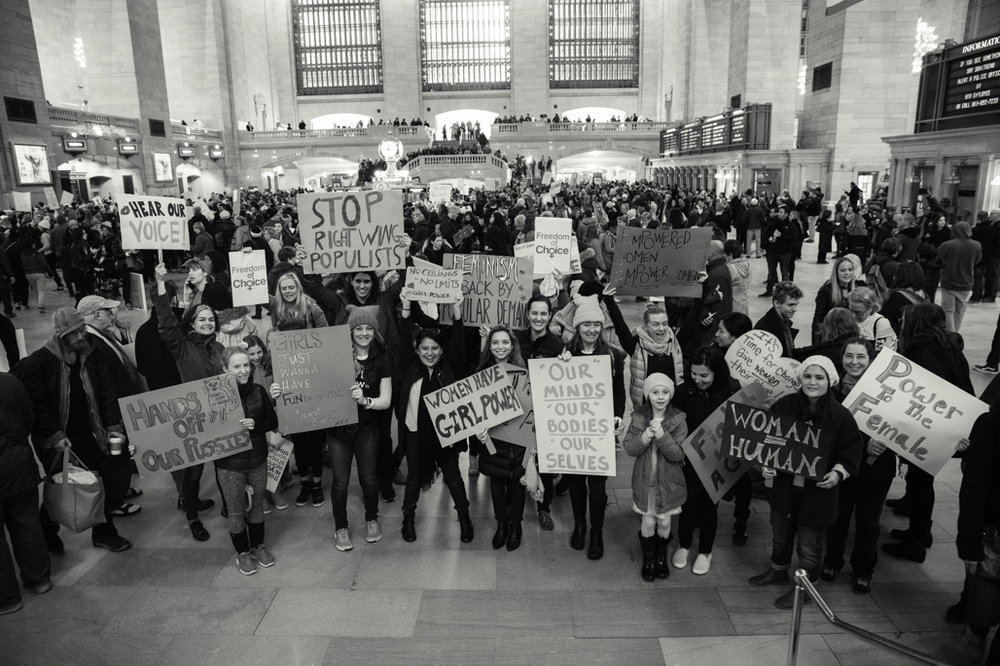 Grand Central, Women's March NYC