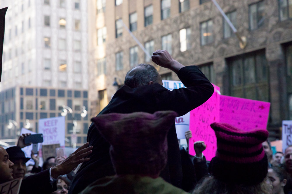 Senator Chuck Schumer, Women's March NYC