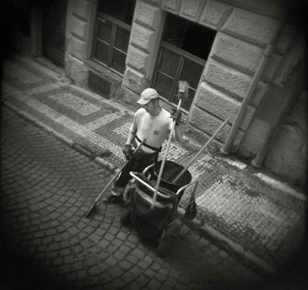 Street Sweeper, Prague