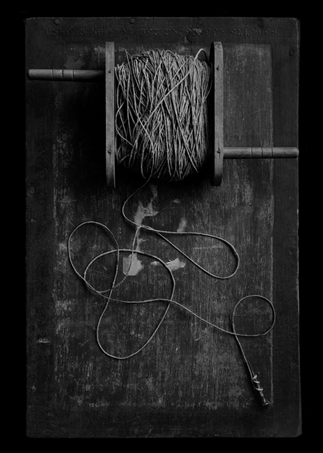 Nail and String, 2003 Pigmented inkjet print 42 x 31 inches, 107 x 79 cm