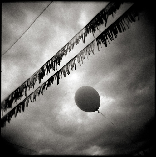 Balloon Before the Storm