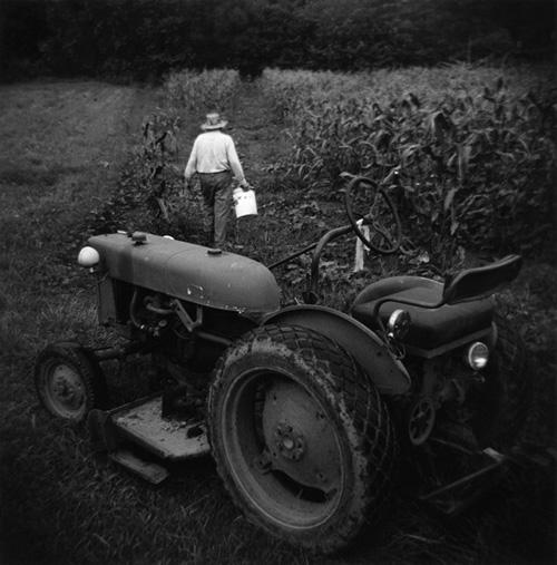 Corn Field Tractor
