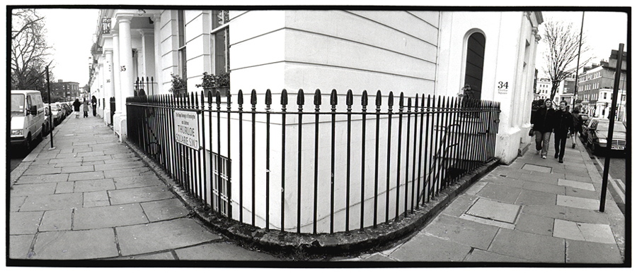 Iron Fence, London, England