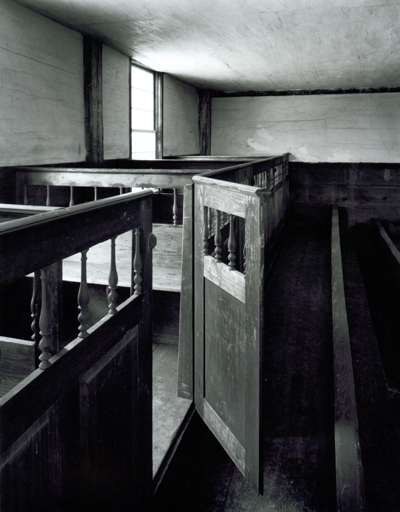 Box Pews, Danville Meeting House