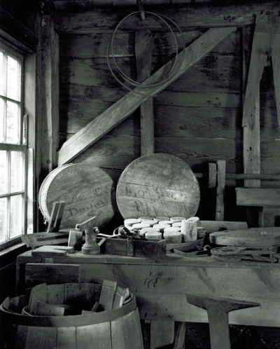 Bench and Window, Deefield Cooperage