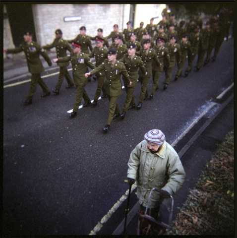Remembrance Sunday, 2007, Church Street, Bicester, England