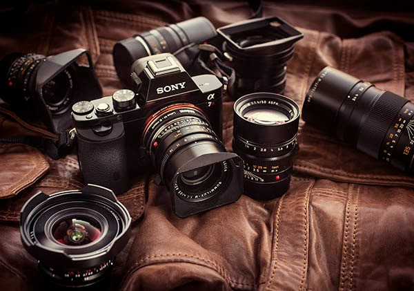 Sony a7r with a slew of Leica M lenses