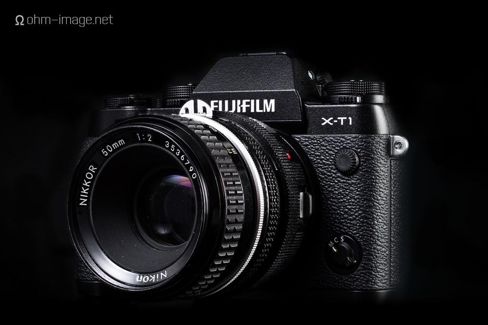 Fujifilm X-T1 front Nikkor 50-2 Ai.jpg