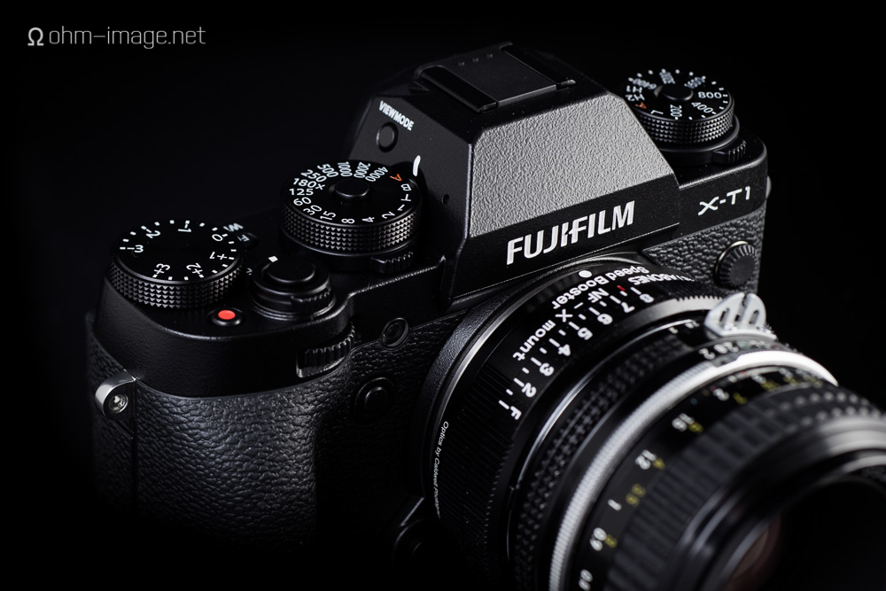 Ansible Ohmage: Fujifilm X-T1