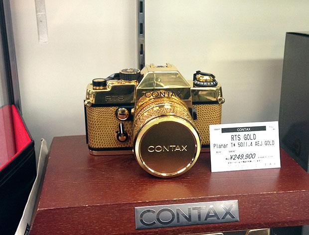 Tokyo-used-camera-fair-gold-contax-RTS.jpg