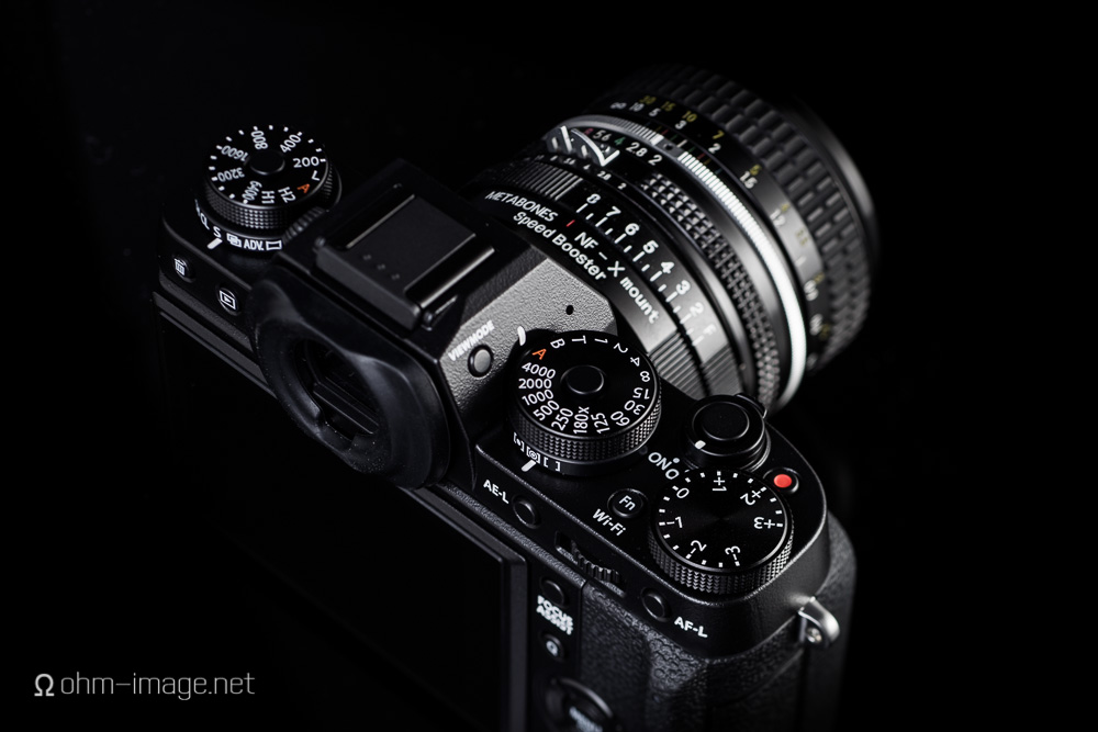 Fujifilm X-T1 with NIK-FX Speedbooster.