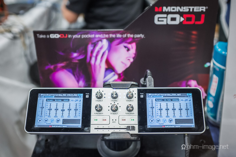 Monster God-J, or Go-DJ, or something like that, gets 12 hours of battery life