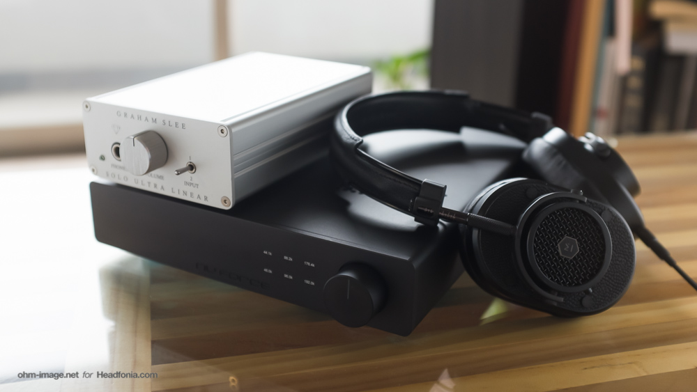 Master & Dynamic Headphones, Graham Slee Solo Ultra Linear, nuforce DAC-80