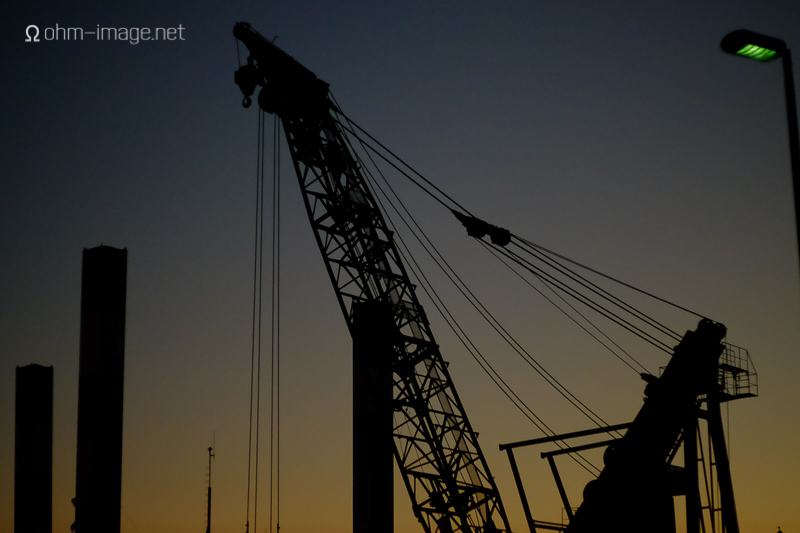 crane in Fukuoka