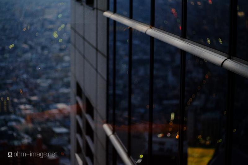 Overlooking Tokyo after high-tea