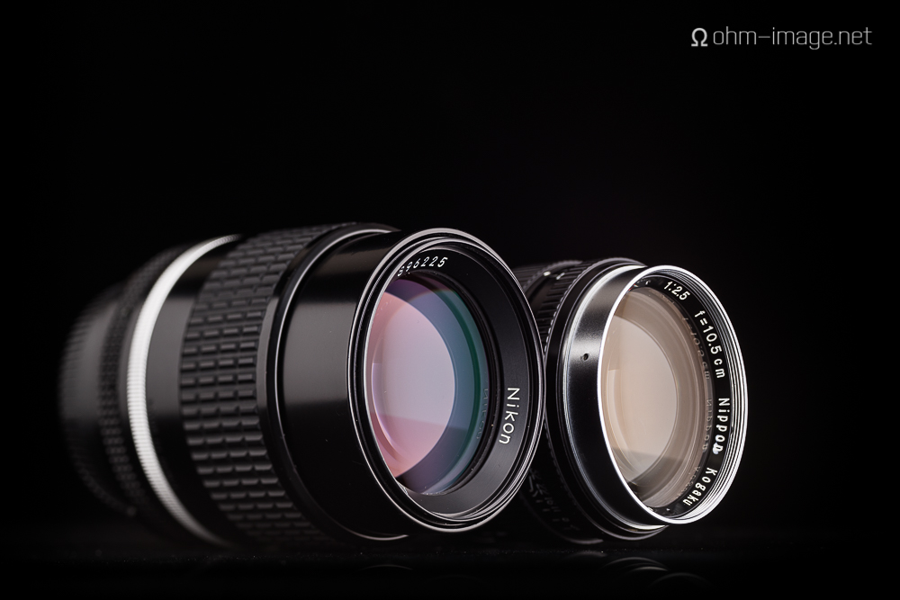 And a view of thhe coatings of both lenses