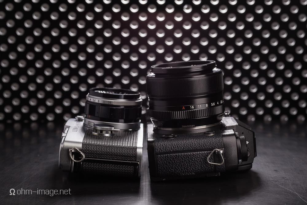 Olympus Pen FT Fujifilm X-T1 lens height-1.jpg