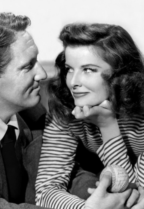 Katherine Hepburn with Spencer Tracy