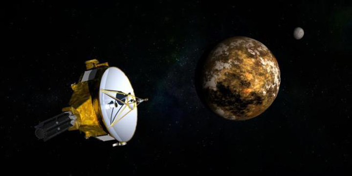 NASA's New Horizons exploratory satellite approaches Pluto