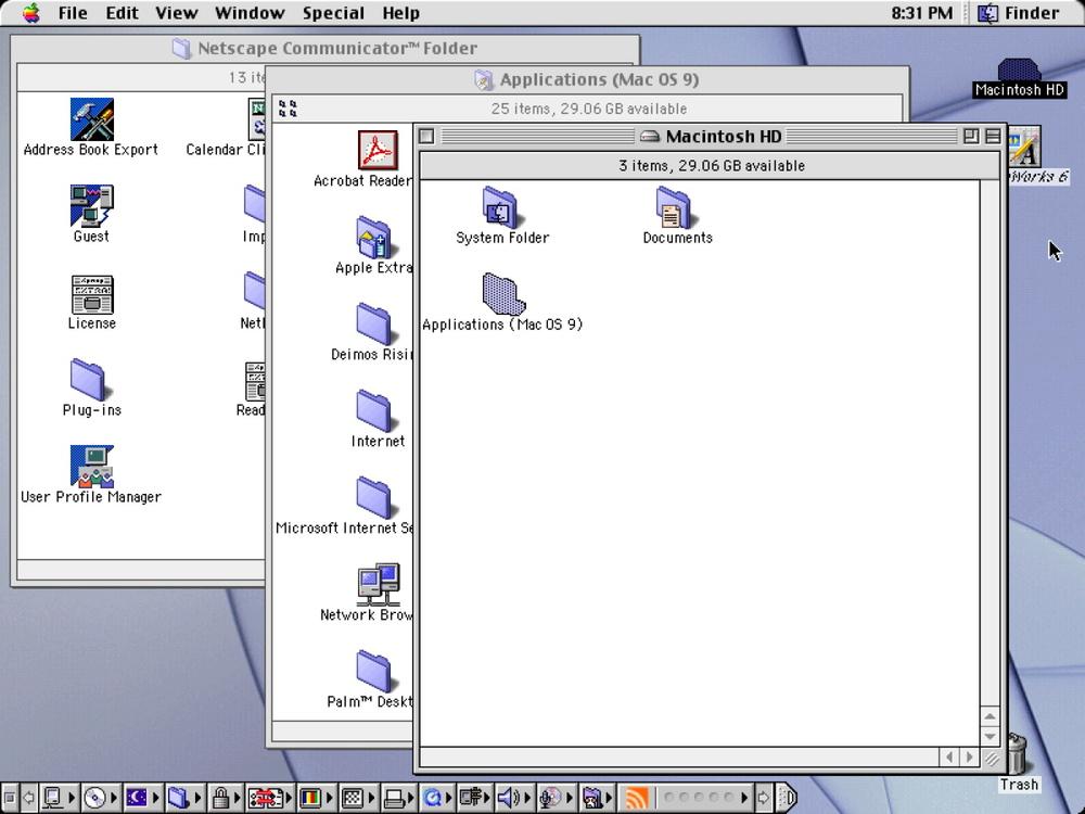 Classic Mac OS 9