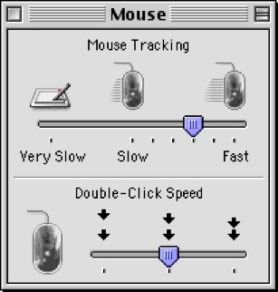 Check out the attention to detail, the beauty, and the simplicity of the Mouse control panel.