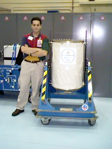 Me with VORTEX at KSC, 1998