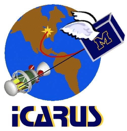 Icarus Logo. Designed by Stuart Feldman