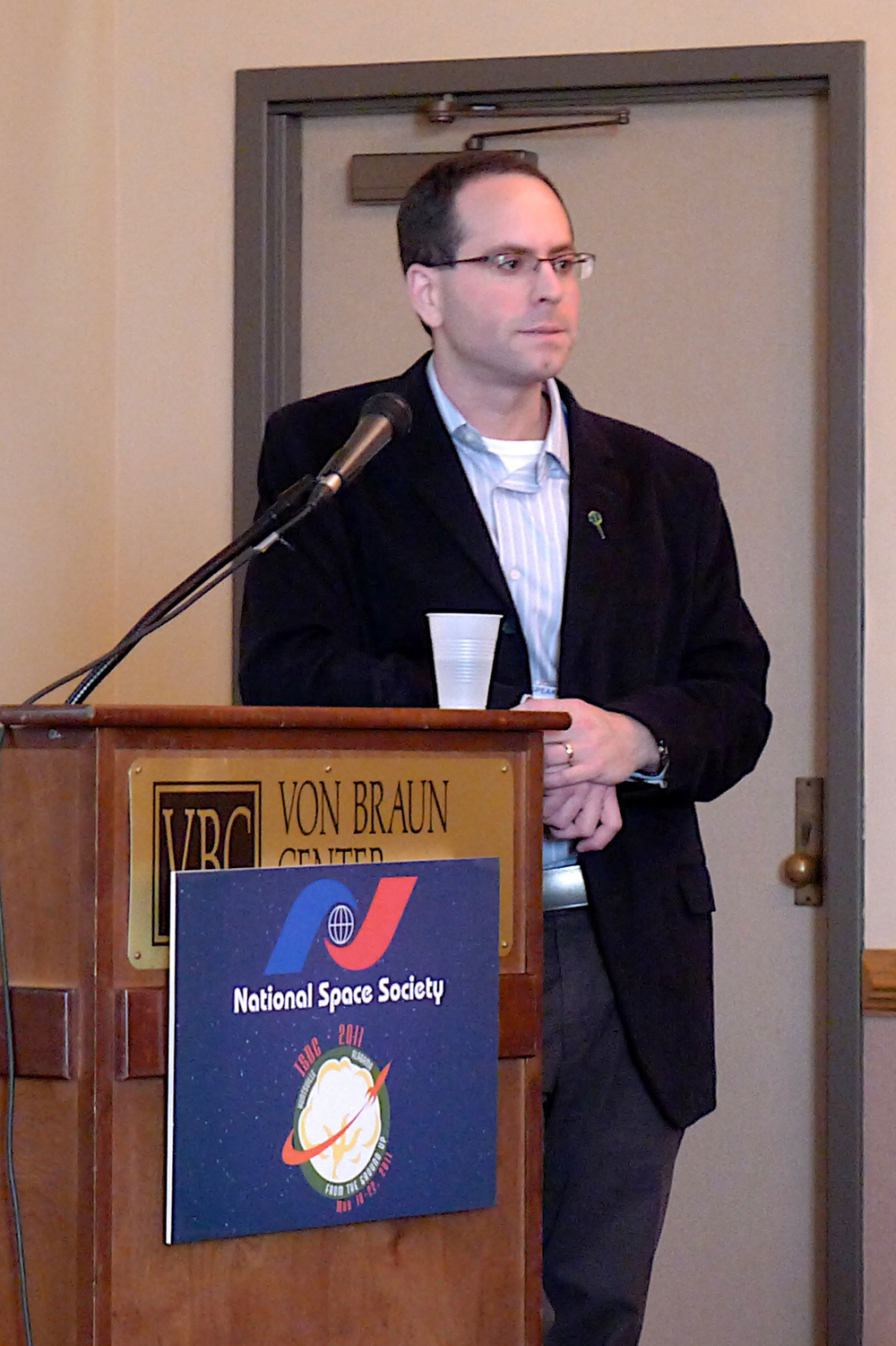 "Speaking at ISDC 2011 in Huntsville, AL: ""How Propulsion Technology Shaped Beyond-Low-Earth- Orbit Exploration Roadmaps"""