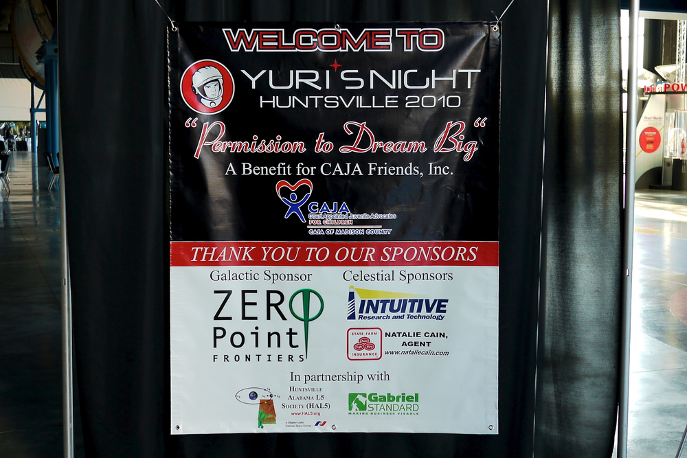 ZPFC was a signature sponsor of Yuri's Night Huntsville in 2010 and 2011