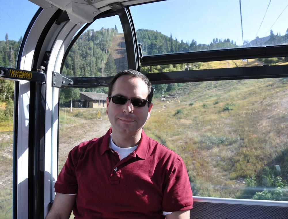 Gondola over Utah. 2009.