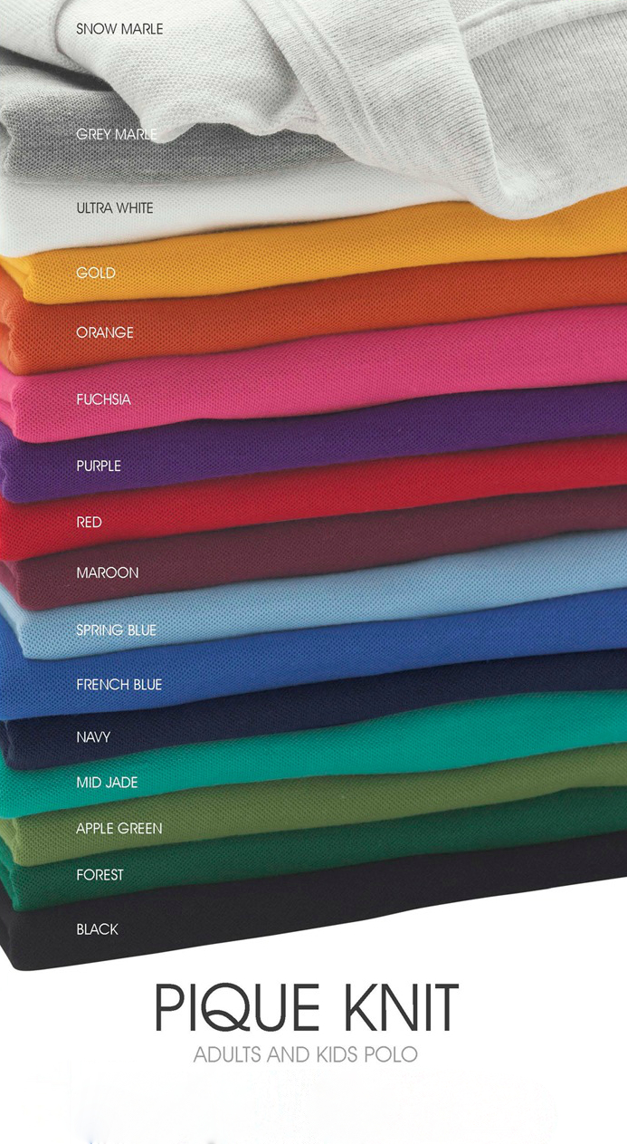 Pique knit adults and kids polo.jpg