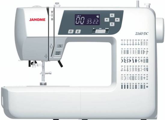 Computerised Machines Peter Taylors Cool Janome 2160dc Sewing Machine Review