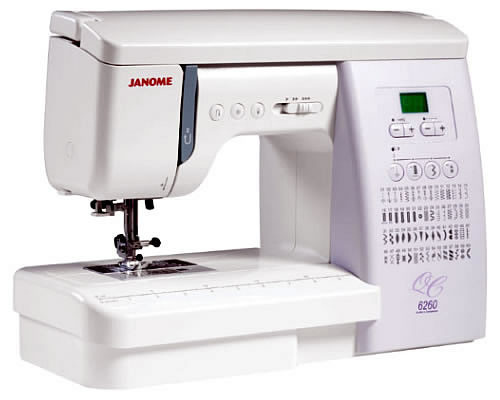 Computerised Machines Peter Taylors Classy Janome 6260qc Sewing Machine Price