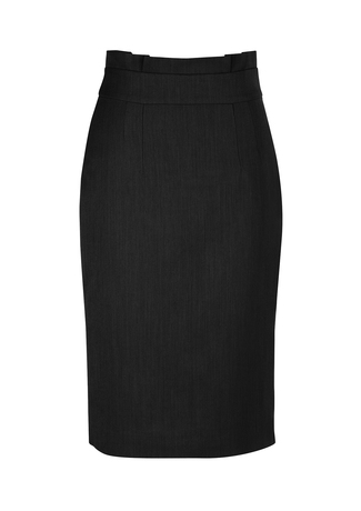 20116  waisted pencil skirt  $65.45  92% polyester 8% bamboo  black   SIZES : 4 6 8 10 12 14 16 18 20