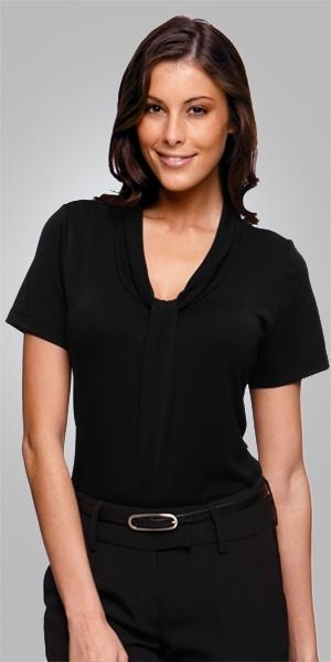 2222  pippa SHORT SLEEVE  $61.50  100% Polyester matte jersey  black   SIZES : XXS XS S M L XL 2xL 3xl 4xl