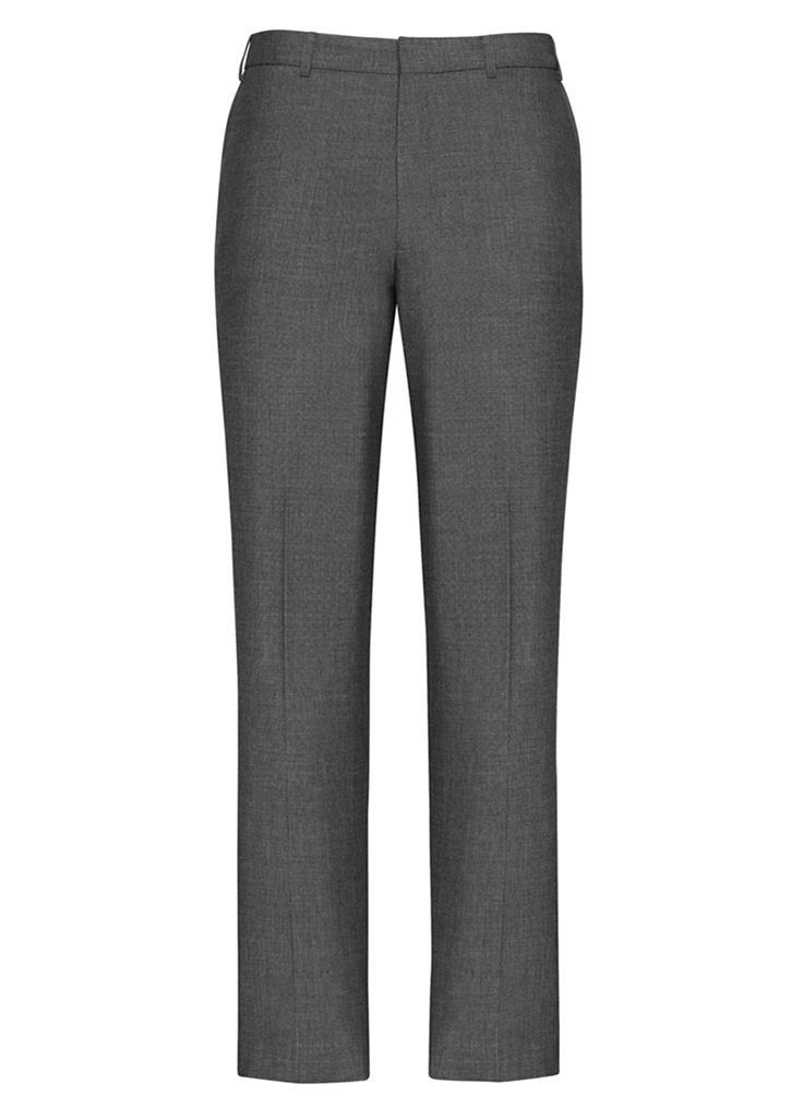 70313  Men's slim line leg pant  $65.70  63% polyester 33% viscose 4% elastane  grey   SIZES : 77R - 112R