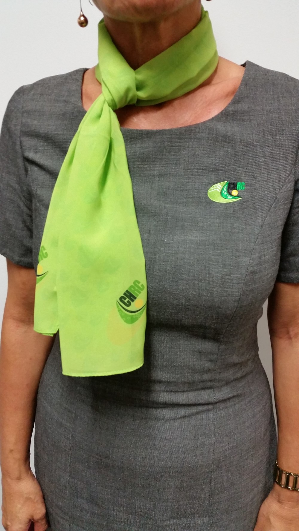 LADIES CHRC SCARFi LIME GREEN $22.70    SIZES : ONE SIZE FITS ALL