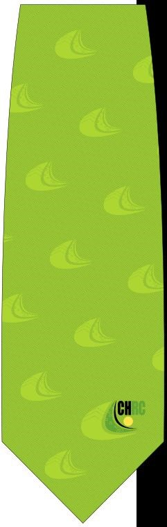 men's chrc tie  i   lime green     I    $29.95