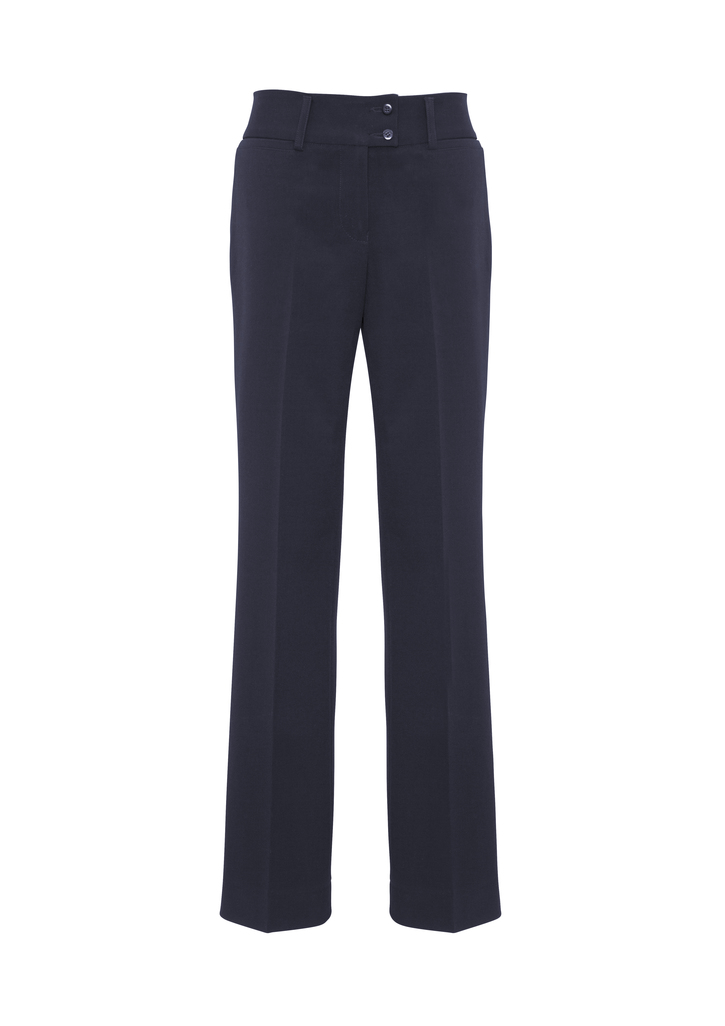 BS508L   LADIES kate PERFECT FIT PANTS   62% POLYESTER 34%VISCOSE 4 % ELASTANE I   NAVY   SIZES  :4 6 8 10 12 14 16