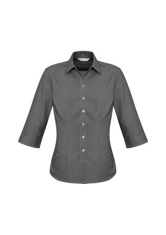 s716lt  ellison check  $41.51  55% cotton 45% polyester  black/white   sIZES : 6 8 10 12 14 16 18 20 22 24