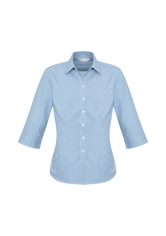 s716lt  ellison check  $41.51  55% cotton 45% polyester  blue/white   sIZES : 6 8 10 12 14 16 18 20 22 24