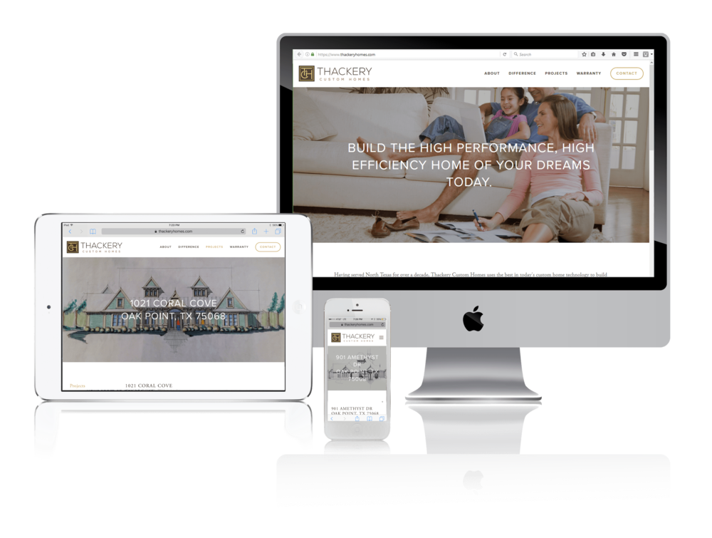 Squarespace for Custom Home Builders