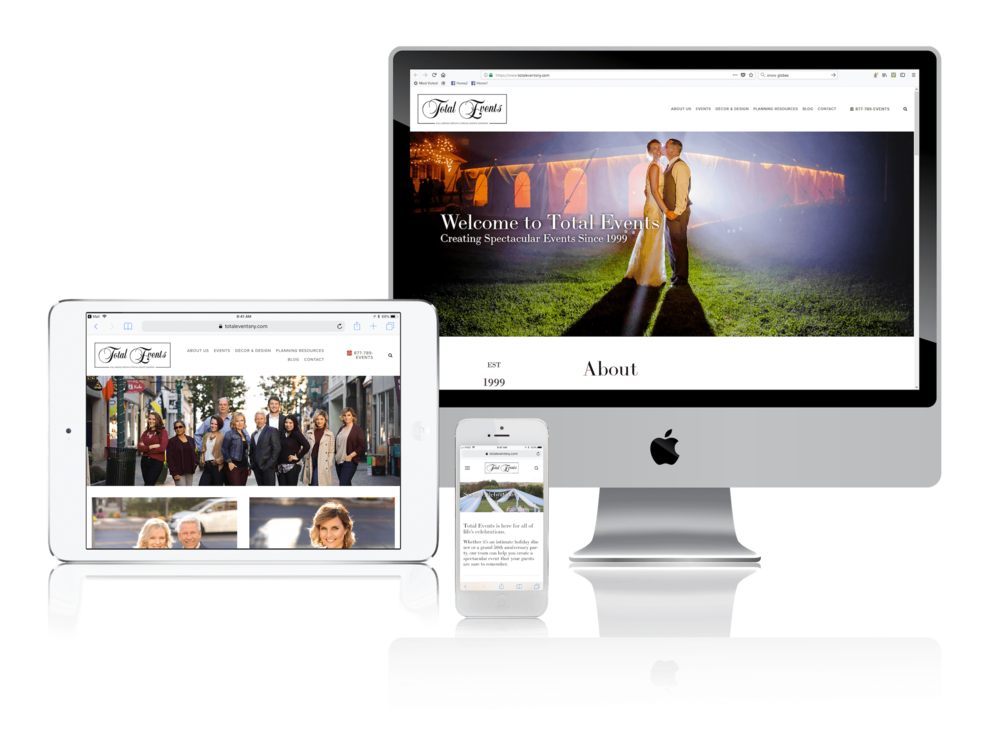 Squarespace for New York Event Planners