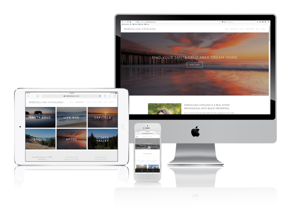 Squarespace for California Real Estate Professionals