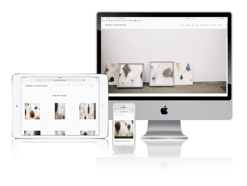 Squarespace for Contemporary Artists