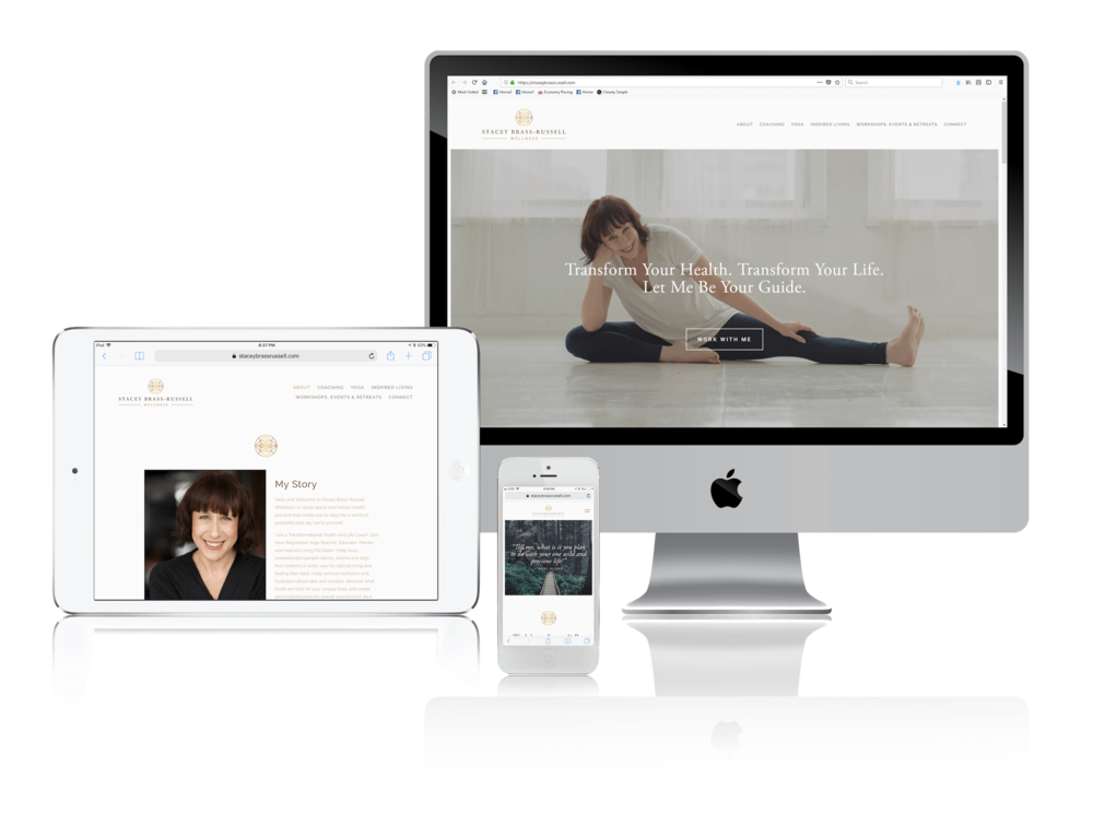 Squarespace for Yoga and Wellness Coaching