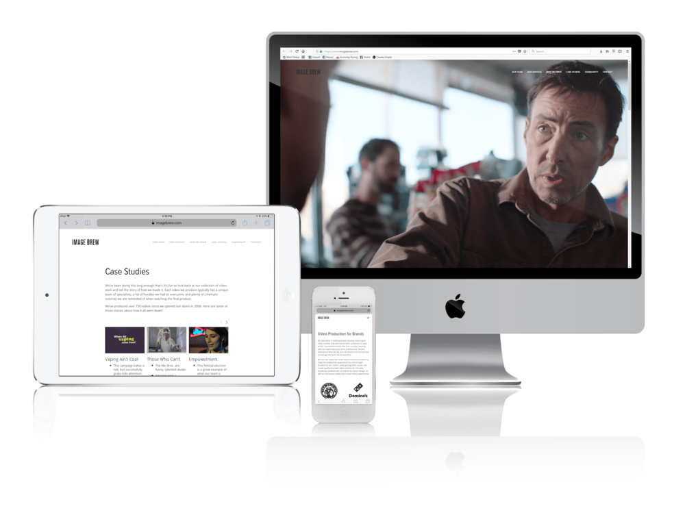 Squarespace for Video Production Companies