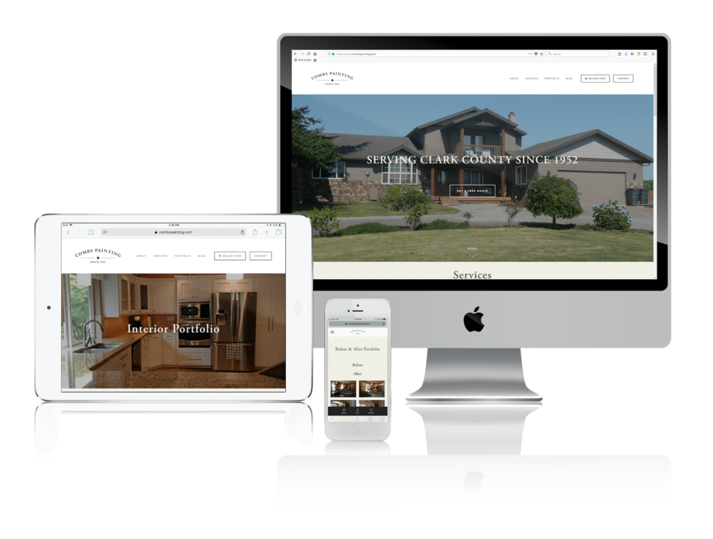Squarespace for House Painters
