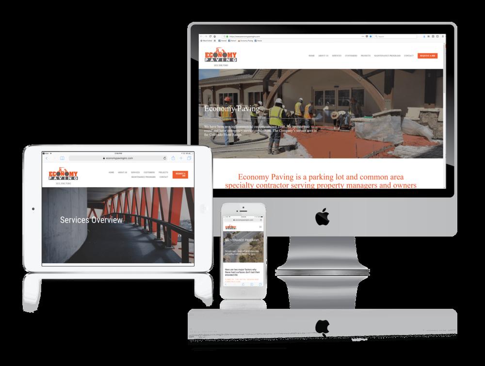 Squarespace for Paving Contractors