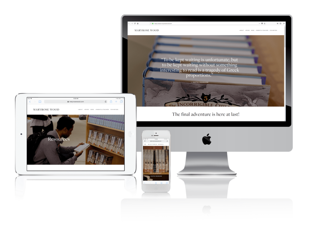 Squarespace for Children's Book Authors